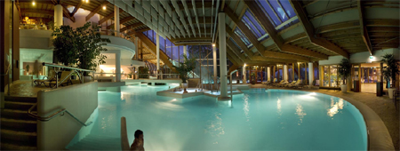 Sfeer foto bubbelbad thermaalbad Thermae 2000